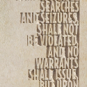 AMENDMENT IV - Text close-up