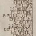 AMENDMENT V- Text close-up